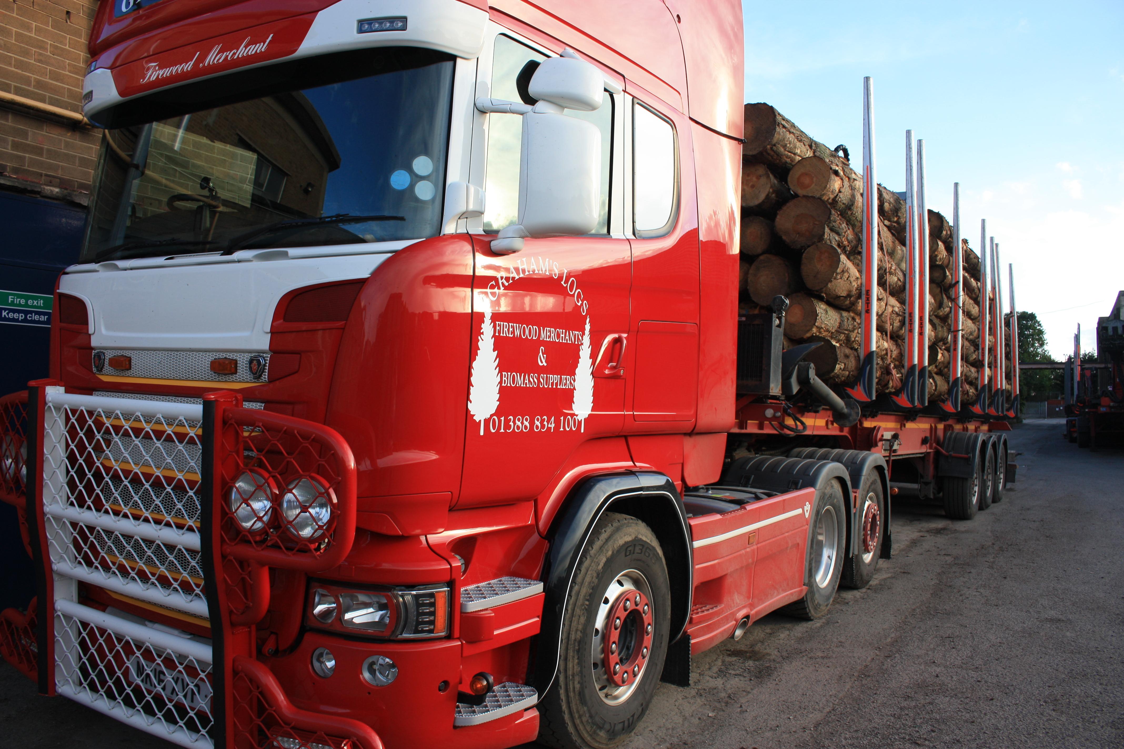 logs biomass fuel Darlington